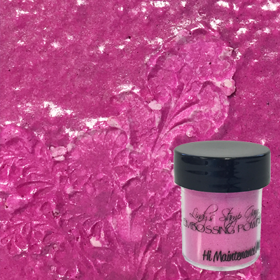 Lindy's Stamp Gang Embossing Powder - Hi Maintenance Magenta