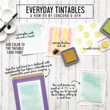 Concord & 9th - Everyday Tintables Card Pack