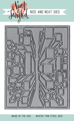 ***Pre-Order*** Neat & Tangled - Nice & Neat Dies - Exploding Blocks Cover Plate