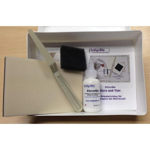 IndigoBlu FlitterGlu Kit in Box - Starter Kit (No Flake included)