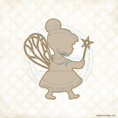 Blue Fern Studios - Chipboard - Fluttering Fairy