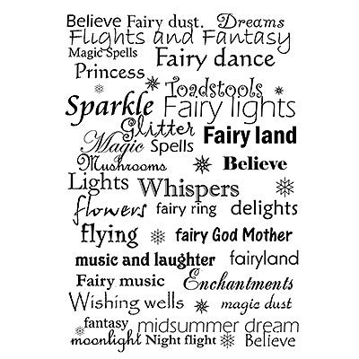 Lavinia Stamps - Words and Verses - Fairy Words