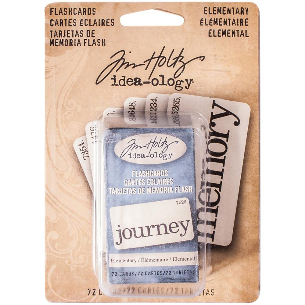 Tim Holtz Idea-Ology - Elementary Flashcards