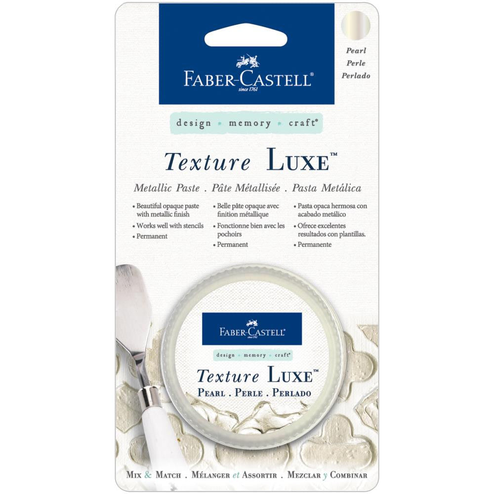 Faber-Castell Texture Luxe Metallic Paste 30ml - Pearls