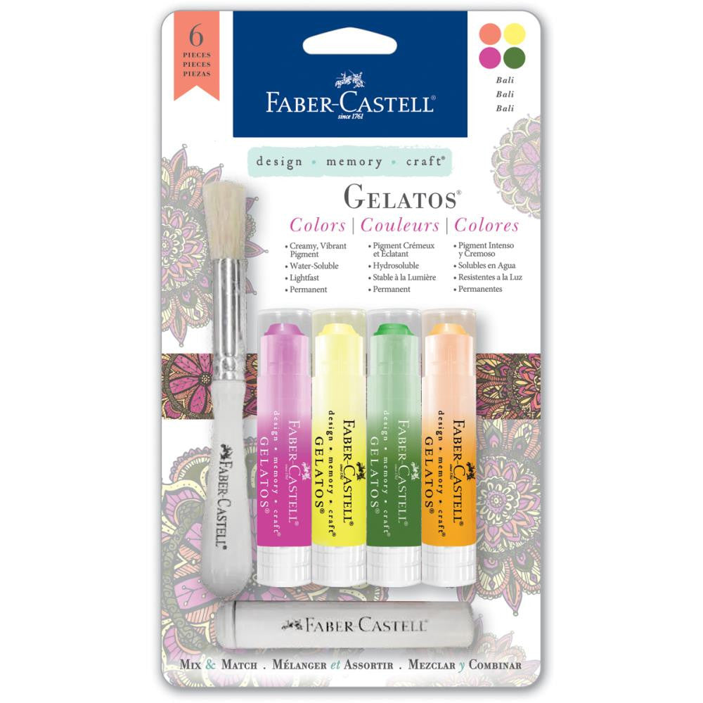 Faber-Castell Mix & Match Gelatos Designer Series 4/Pkg - Bali