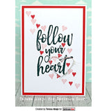 "Darkroom Door - Cling Stamps 3""x2"" - Follow Your Heart"