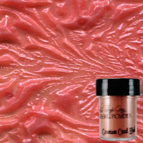 Lindy's Stamp Gang Embossing Powder - Geranium Coral Blush