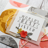 Concord & 9th - Stamp Set - Globe Greetings