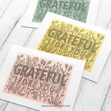 Concord & 9th Stamp - Grateful For You