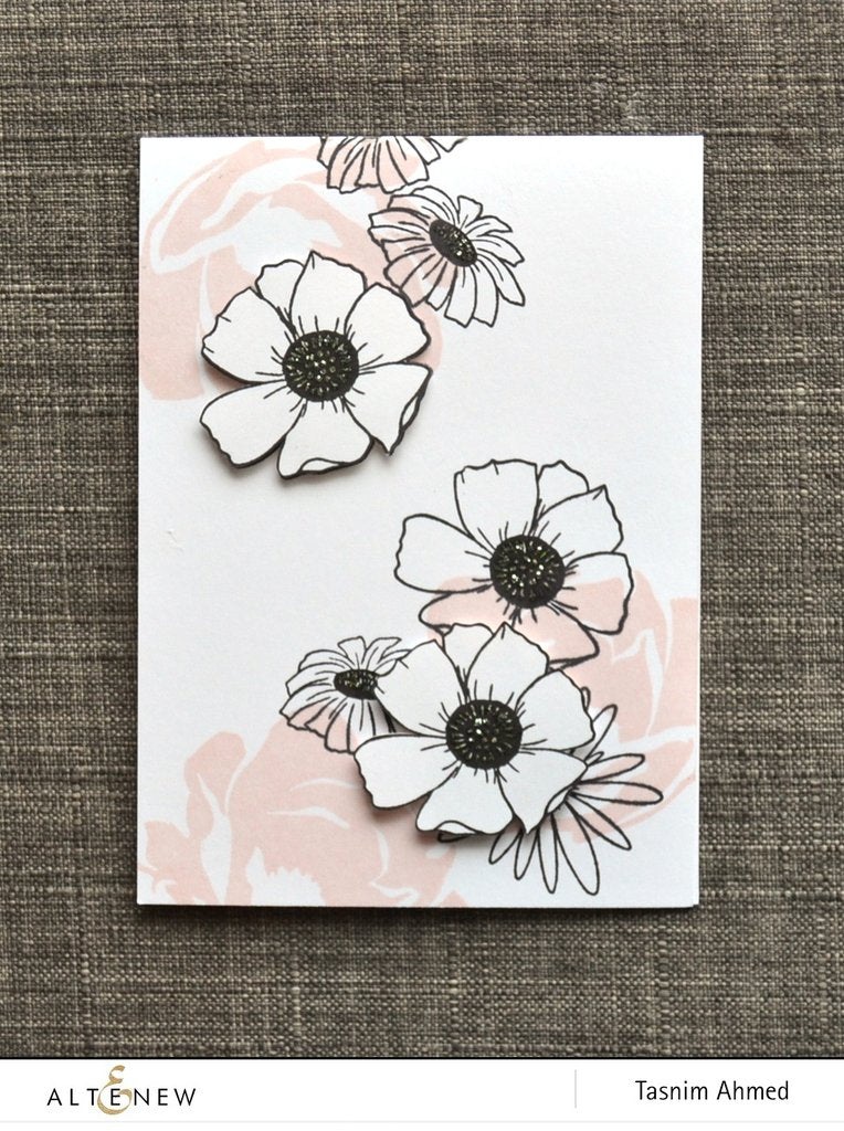 Altenew - Happy Bloom Stamp Set