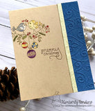 "Newton's Nook Designs - 4"" x 4"" Stamp Set - Holiday Tweets"