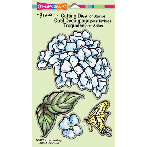 Stampendous Wafer Dies - Hydrangea Set/4 (this goes with Stampendous Hydrangea Stamp)