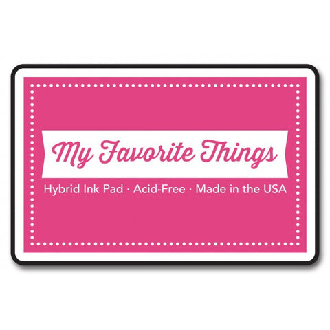"My Favorite Things Hybrid Ink Pad 3"" x 2"" - Razzle Berry"