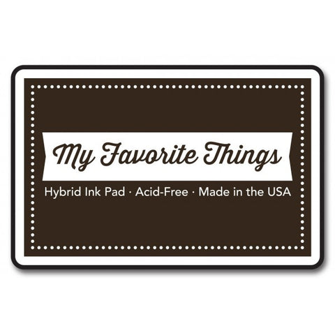 "My Favorite Things Hybrid Ink Pad 3"" x 2"" - Hot Fudge"