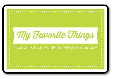 "My Favorite Things Hybrid Ink Pad 3"" x 2"" - Limelight"