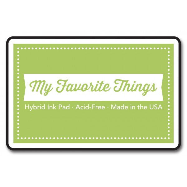 "My Favorite Things Hybrid Ink Pad 3"" x 2"" - Sour Apple"