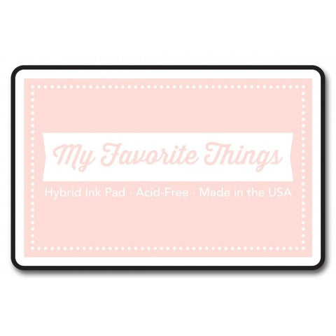 "My Favorite Things Hybrid Ink Pad 3"" x 2"" - Insulation Pink"
