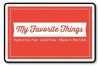 "My Favorite Things Hybrid Ink Pad 3"" x 2"" - Persimmon"