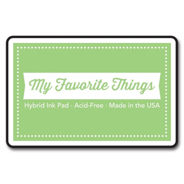 "My Favorite Things Hybrid Ink Pad 3"" x 2"" - Limeade"