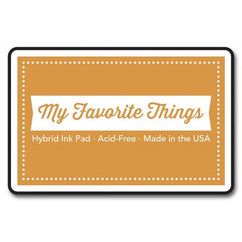 "My Favorite Things Hybrid Ink Pad 3"" x 2"" - Safety Orange"