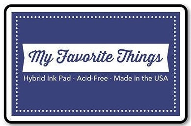 "My Favorite Things Hybrid Ink Pad 3"" x 2"" - Blueberry"