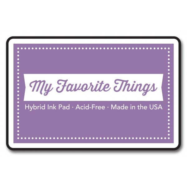 "My Favorite Things Hybrid Ink Pad 3"" x 2"" - Grape Jelly"