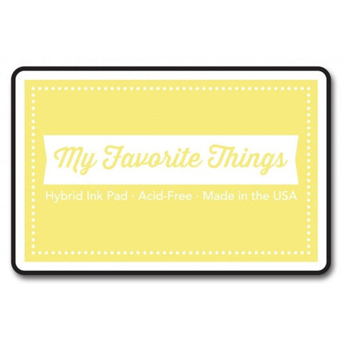"My Favorite Things Hybrid Ink Pad 3"" x 2"" - Banana Split"
