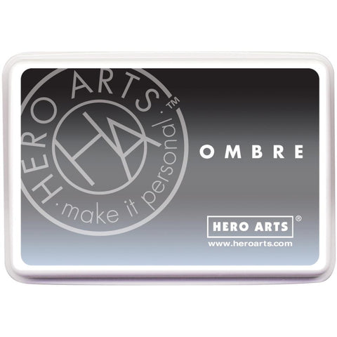 Hero Arts Ombre Ink Pad - Grey to Black