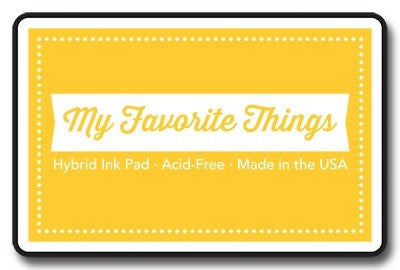"My Favorite Things Hybrid Ink Pad 3"" x 2"" - Daffodil"