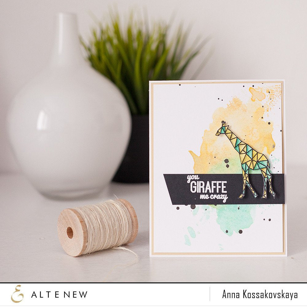 "Altenew - 4"" x 6"" Stamp Set - Geometric Menagerie"