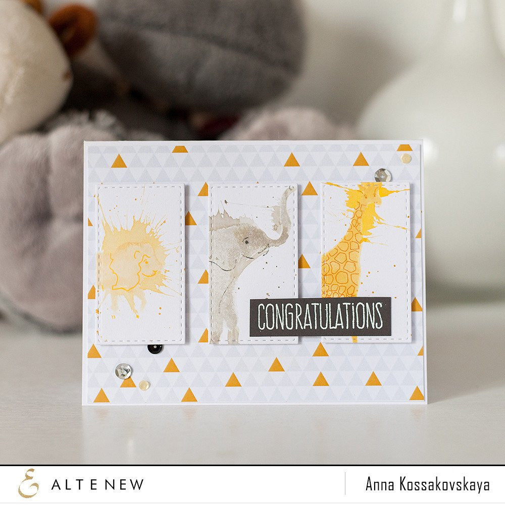"Altenew - 6"" x 8"" Stamp Set - Baby Zoo"
