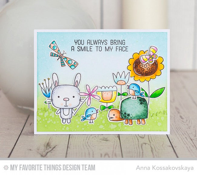 My Favorite Things - Clear Stamp Set - Springtime Critters
