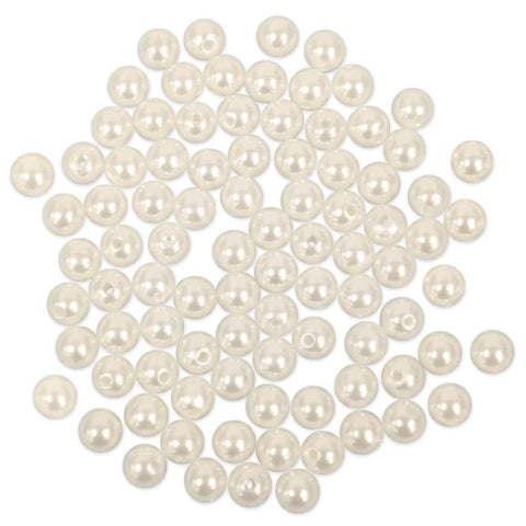 Pearl Beads Value Pack - 8mm Ivory