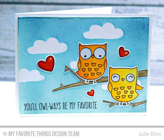 My Favorite Things - Die-Namics - I'm Owl Yours (coordinates with I'm Owl Yours Stamp Set)