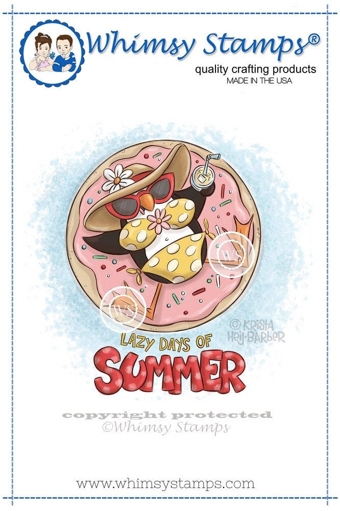 Whimsy Stamps - Cling Stamps - Lazy Days of Summer