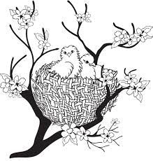 Clarity Stamp - Clear Stamp - Nest (Unmounted)
