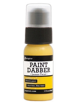 Ranger Acrylic Paint Dabber 1oz - Lemon Twist