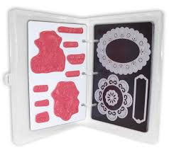 Crafter's Companion EZMagnetic  2-N-1 Starter Set (Mini Size) Includes Binder & 3 Storage Panels