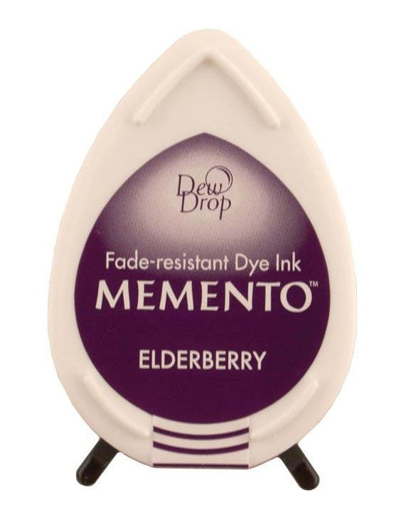 Tsukineko, Memento Dew Drop Dye Ink Pad - Elderberry