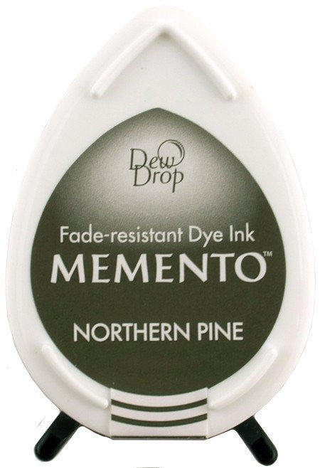Tsukineko, Memento Dew Drop Dye Ink Pad - Northern Pine