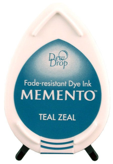 Tsukineko, Memento Dew Drop Dye Ink Pad - Teal Zeal