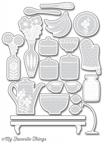 My Favorite Things - Die-Namics - Kitschy Kitchen (coordinates with Kitschy Kitchen Stamp Set)