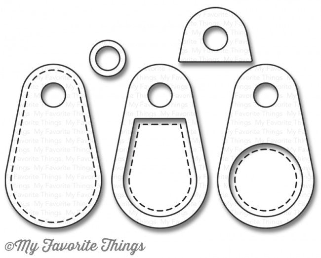 My Favorite Things - Die-namics - Stitched Tiny Tags 2