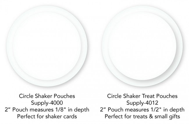 My Favorite Things - Circle Shaker Treat Pouches