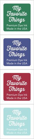 My Favorite Things - Premium Dye Ink Cubes - Set 8