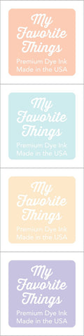 My Favorite Things - Premium Dye Ink Cubes - Set 17