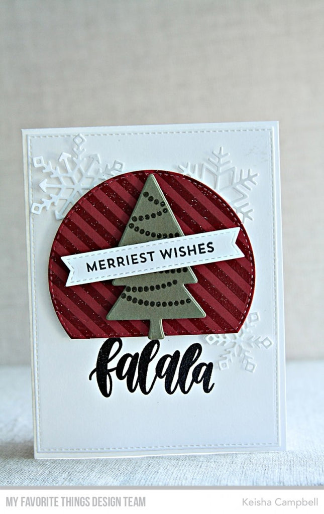 "My Favorite Things - 3""x4"" Clear Stamp Set - Snow Globe Sentiments"