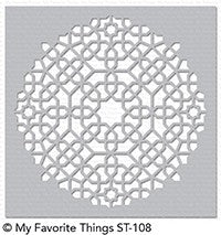 My Favorite Things - Stencil Moroccan Mosaic
