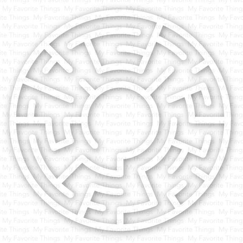 My Favorite Things - Maze Shapes (White)