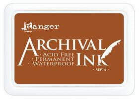 Ranger- Archival Ink Pad #0 - Sepia